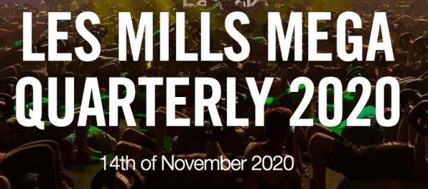 Les Mills MegaQuaterly 2020